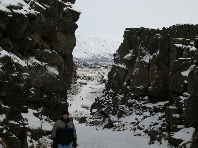 Jay prefers the North American side of this continental plate rift.