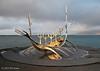 Sun Voyager, Reykjavik. 10/01/15. Iceland is proud of it's Viking heritage.