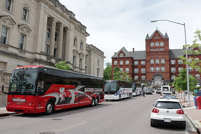 Here's where bus transportation intersects in Madison