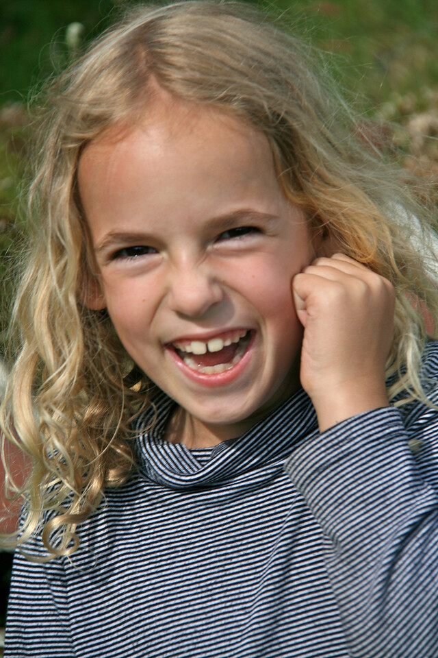 Violet, my niece.