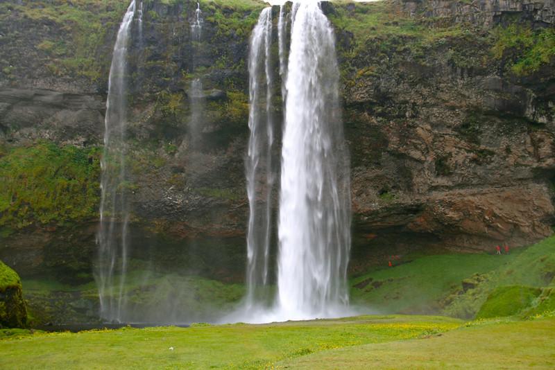 Waterfall you can walk behind.