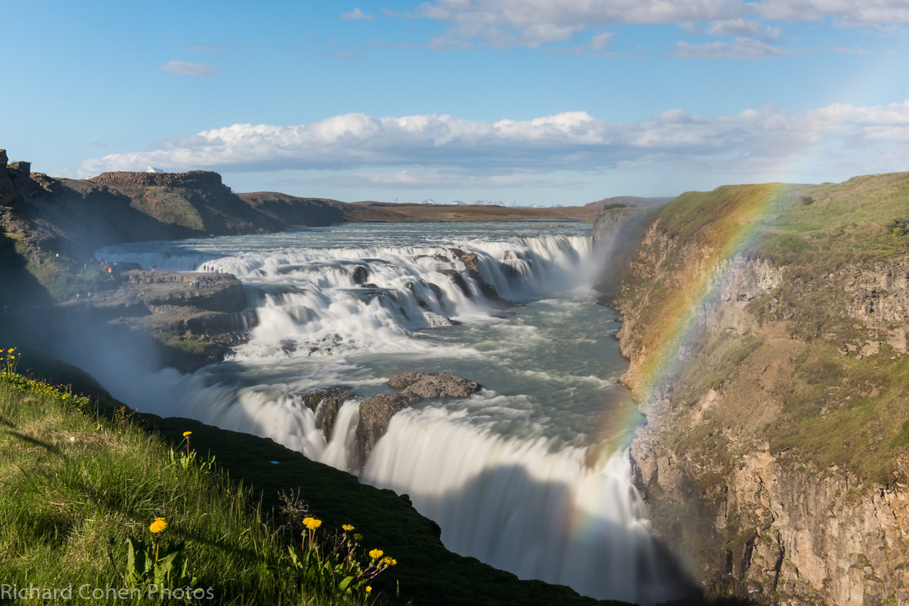 Gulfoss, one of the most famous waterfalls in Iceland. Simply stunning. First of five pictures of this amazing place.