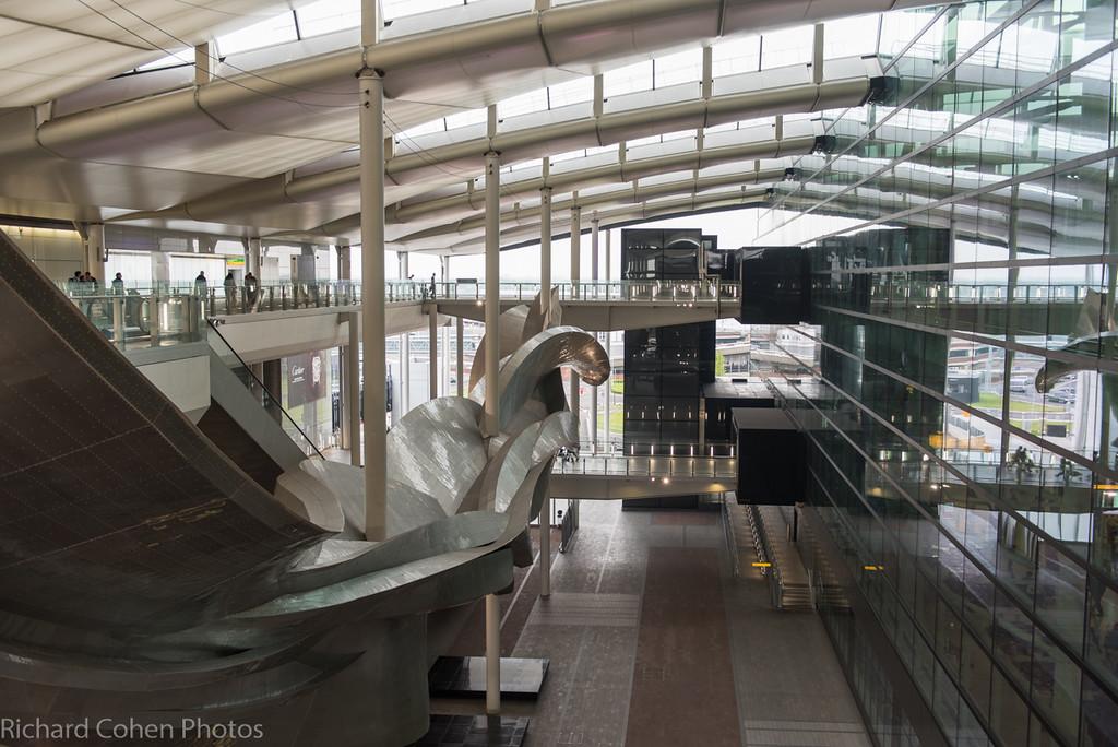 Heathrow terminal 2, the Queen's terminal.