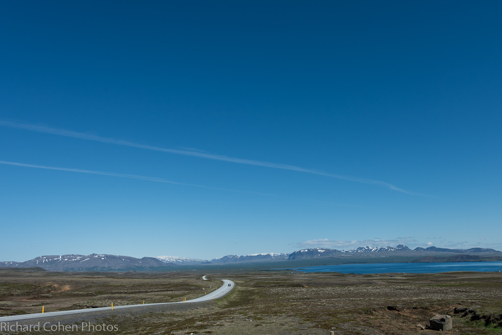 The ring road. We drove about 1000 miles on our five day journey in Iceland.