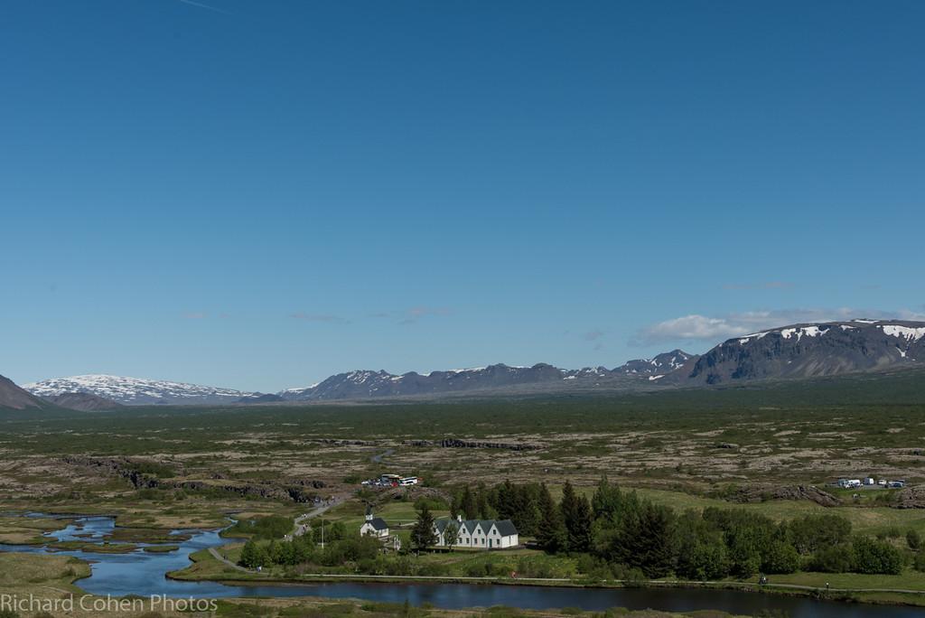 Thingvellir national park.