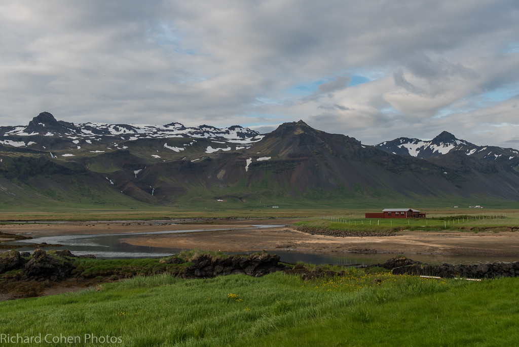 View from our hotel on the Snaefellsnes peninsula. The great thing about the Icelandic printed language is nobody will know if I spelled anything wrong!