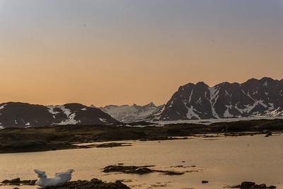 Beautiful Greenland light