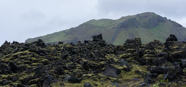Heimaey's varied volcanic landscape