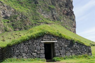 Recreated Viking long house