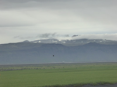 Eyjafjallajökull, site of the volcanic eruption in 2010 that disrupted air traffic that year