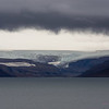 Gloomy fjordscape