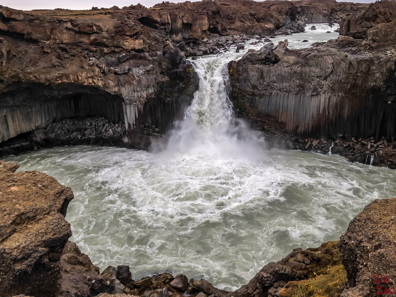 Pool of Aldeyjarfoss Iceland 1