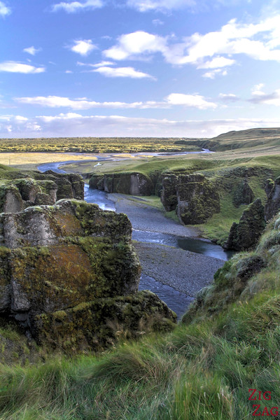 Fjadrargljufur canyon Iceland, photo 2