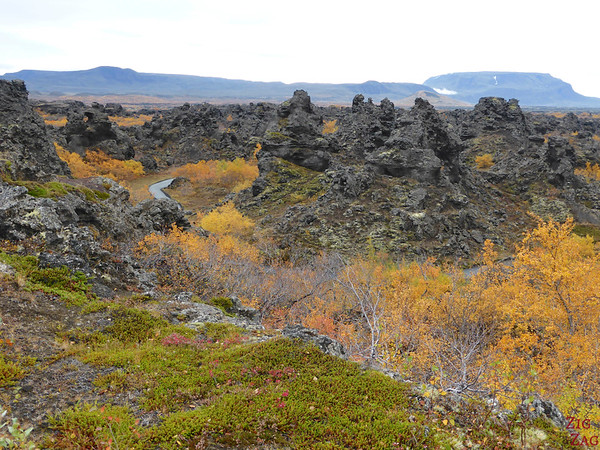 Dimmuborgir, Iceland from the entrance photo 2
