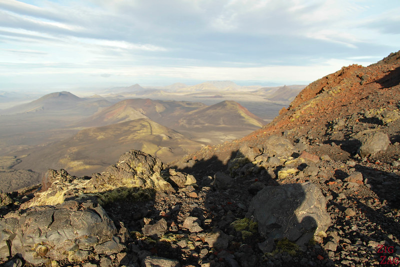 View from Hekla hike