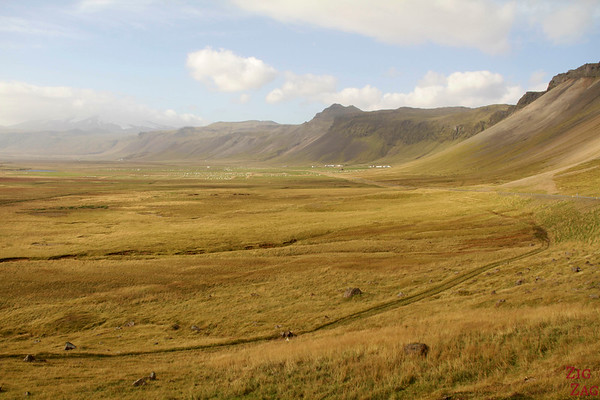 Péninsule  Snaefellsnes Islande - paysages
