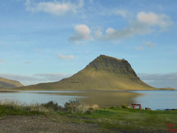 Kirkjufell Iceland from Road 54