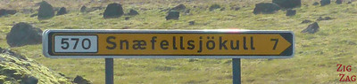 road sign Icelandic