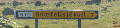 Road sign F570