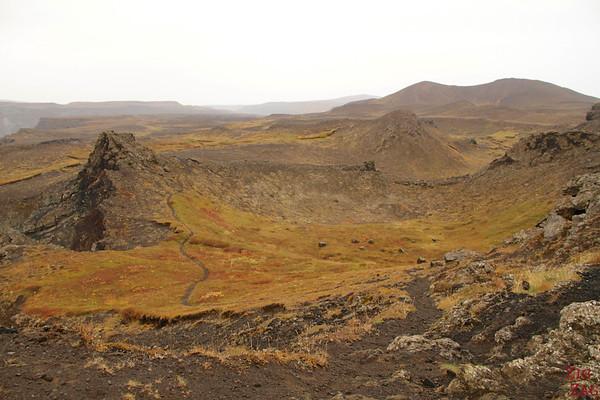 Sentier Jokulsargljufur