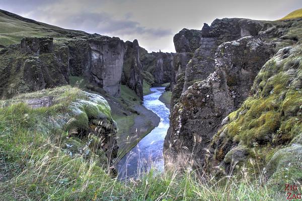 Fjadrargljufur canyon Islande 1