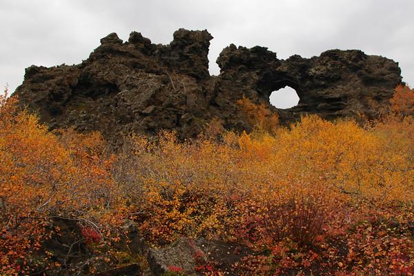 Lac Myvatn Dimmuborgir Islande 5