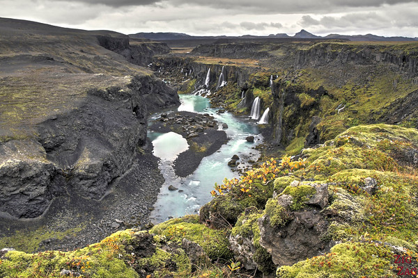 Sigoldugljufur canyon, Iceland Photo 4