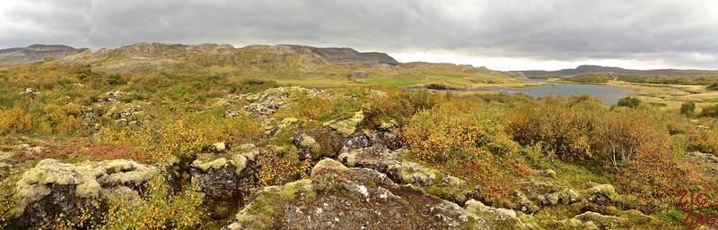 Vues panoramiques à l'extrémité de Glanni Paradise 2
