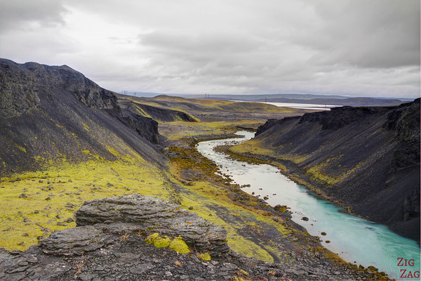 North of Sigoldugljufur canyon, iceland