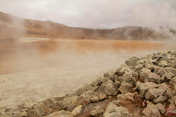 Hverir geothermal area, North Iceland photo 4