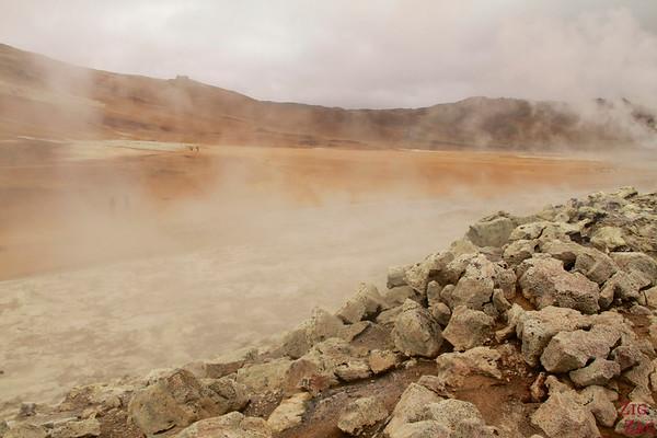 Hverir geothermal area, North Iceland photo 4