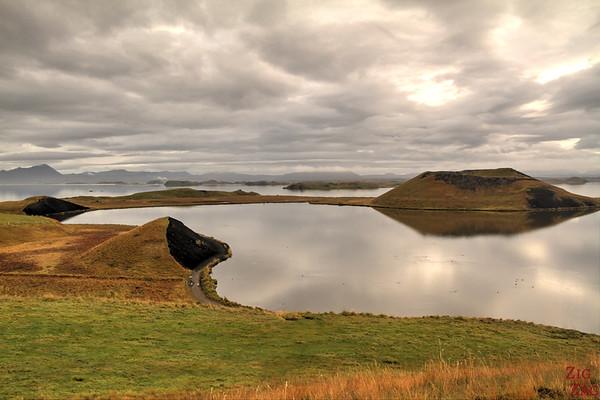 Lake Myvatn pseudo-craters, Iceland Photo 3