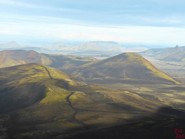 View from Hekla Volcano, Iceland