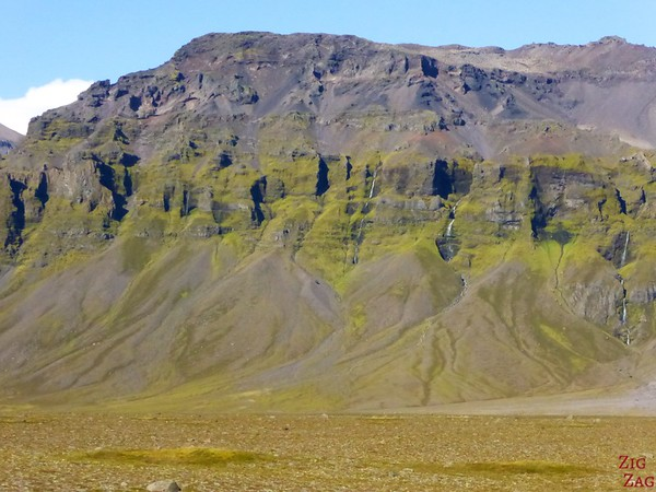 View from Road 1 South Iceland Photo 3