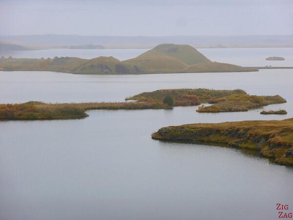 Lake Myvatn pseudo-craters, Iceland Photo 5