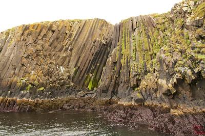Boat trip Stykkisholmur basalt columns