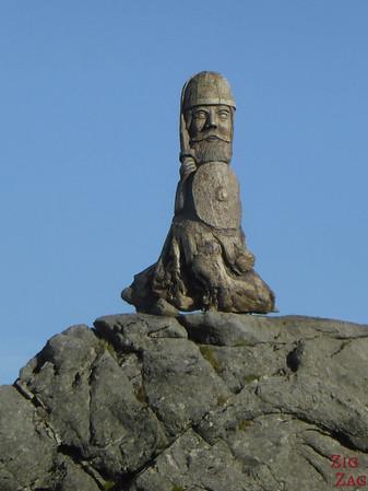 Statue Vestrahorn Islande - Plage de Stokksnes