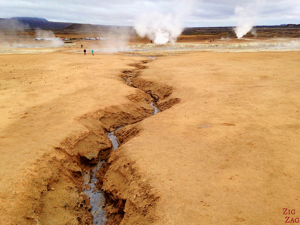 Hverir geothermal area, North Iceland photo 5