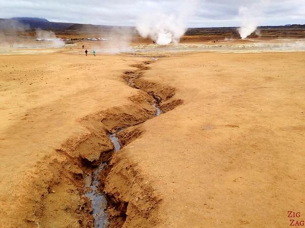 Hverir geothermal area, North Iceland photo 5