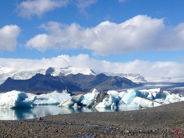 Jokulsarlon Islande sous le soleil 1