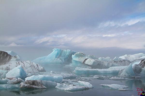 Lagon Jokulsarlon Islande météo brume 1
