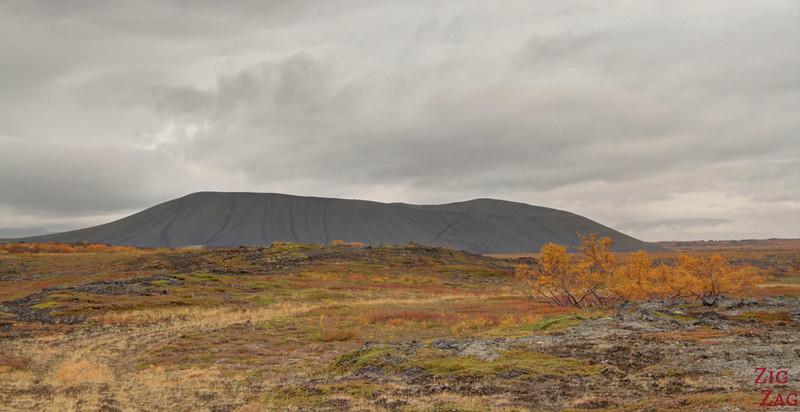 Hverfjall Islande cratère Lac Myvatn 2