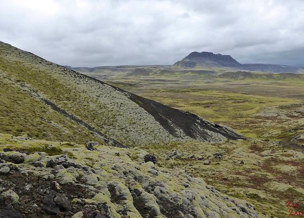 Autour des volcans de Grabrokargigar Islande
