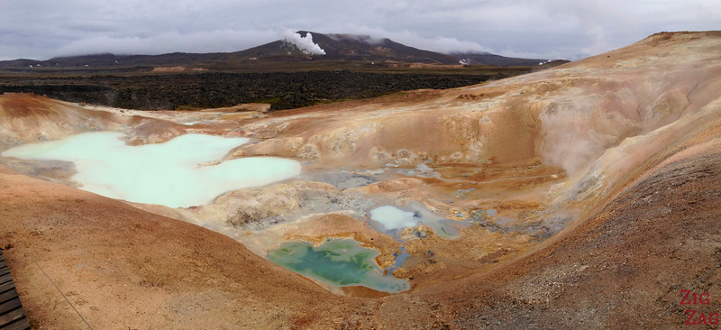 Leirhnjukur geothermal area, North Iceland, photo 1