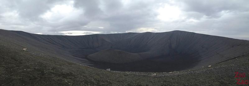 Marcher sur Hverfjall Islande cratère Lac Myvatn 2