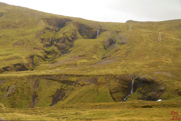 small falls on road F570, Snaefellsjokull