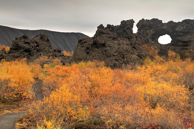Lac Myvatn Dimmuborgir Islande 4