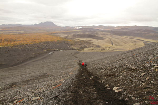 Monter sur Hverfjall Islande cratère Lac Myvatn 2