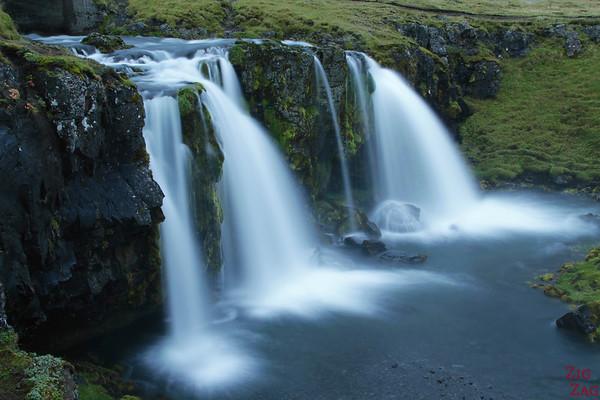 Kirkjufellsfoss waterfallWasserfall Kirkjufellsfoss Island 2