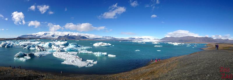Jokulsarlon Islande sous le soleil 2